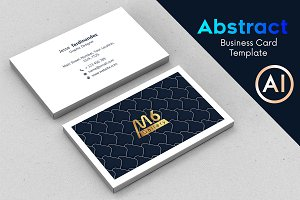 Abstract Business Card Template - 55