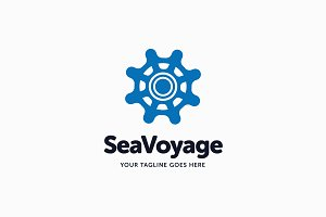 Sea Voyage Logo Template