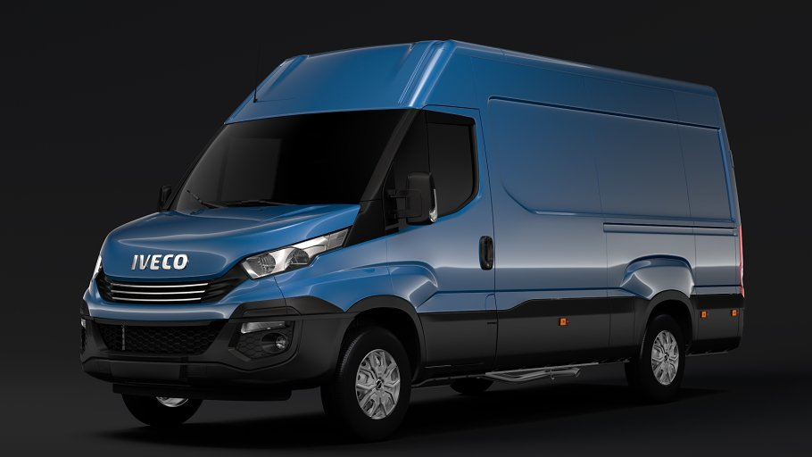 Iveco Daily Van L3H2 2017 in Vehicles