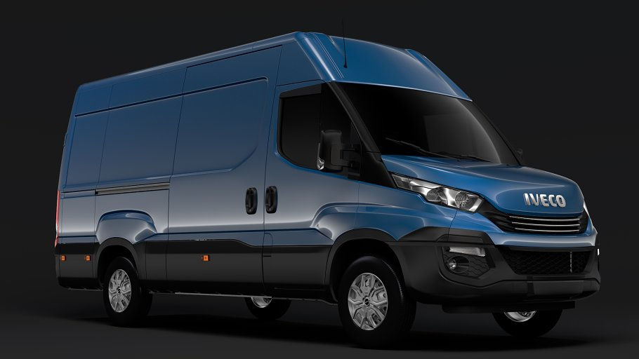 Iveco Daily Van L3H2 2017 in Vehicles - product preview 1