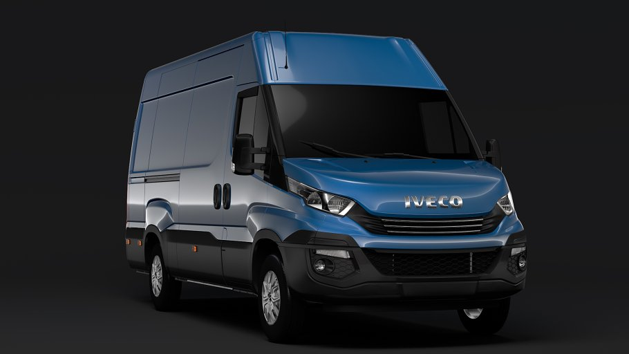 Iveco Daily Van L3H2 2017 in Vehicles - product preview 3