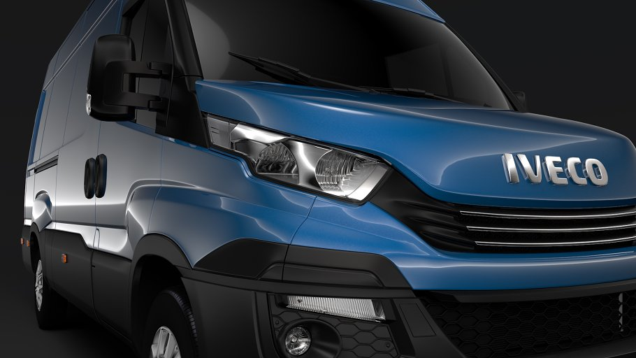 Iveco Daily Van L3H2 2017 in Vehicles - product preview 5