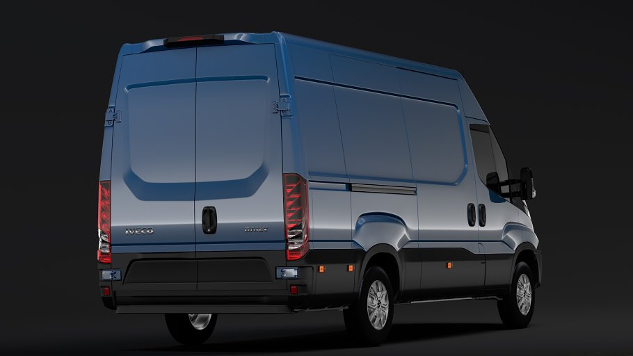 Iveco Daily Van L3H2 2017 in Vehicles - product preview 6