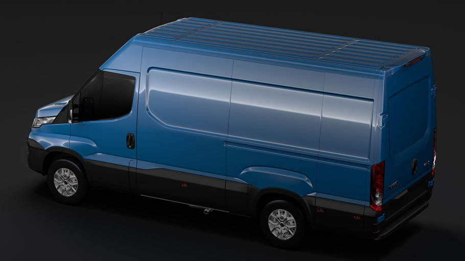Iveco Daily Van L3H2 2017 in Vehicles - product preview 7
