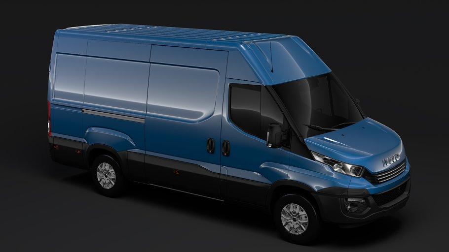 Iveco Daily Van L3H2 2017 in Vehicles - product preview 10