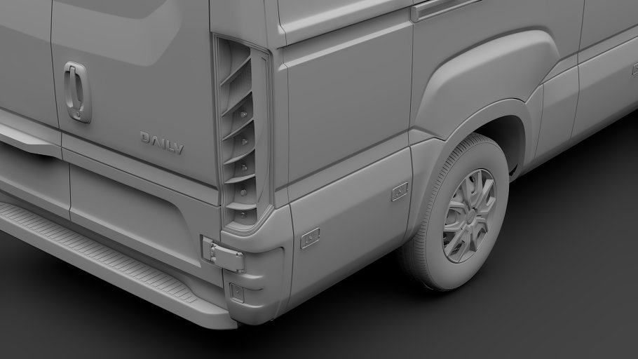 Iveco Daily Van L3H2 2017 in Vehicles - product preview 15