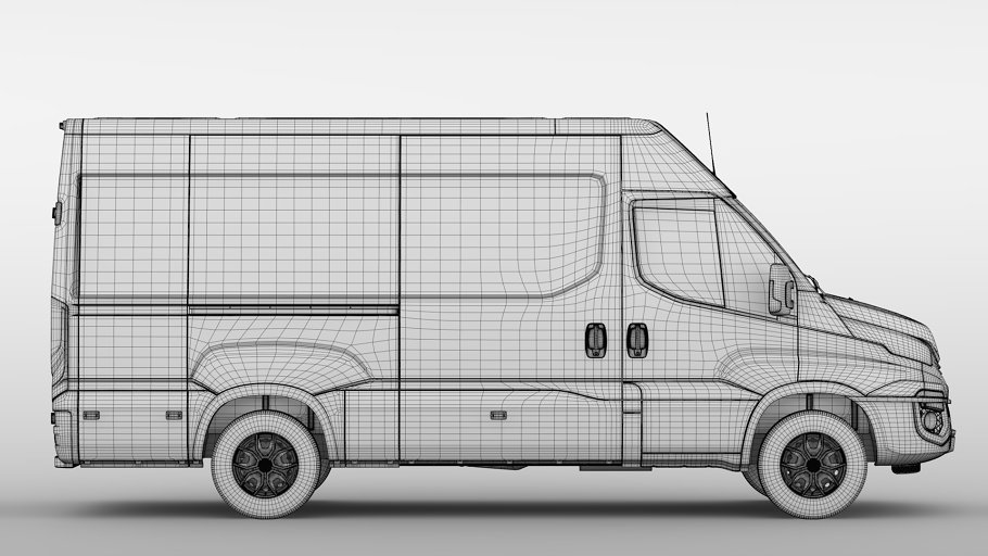 Iveco Daily Van L3H2 2017 in Vehicles - product preview 17