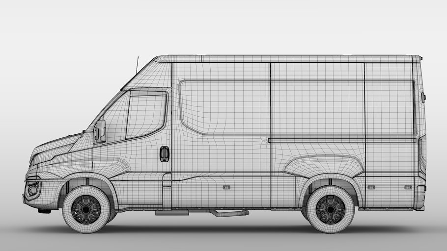 Iveco Daily Van L3H2 2017 in Vehicles - product preview 19
