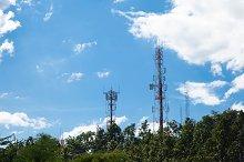 Telecommunications towers