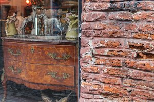 Brick Wall Vintage Furniture