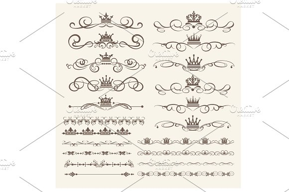 Design Elements Vector PNG Set 2
