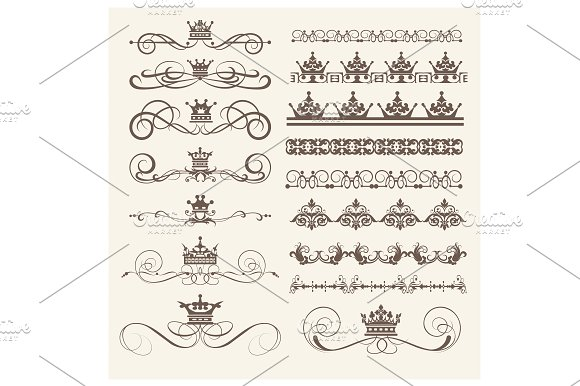 Design Elements Vector PNG Set 3