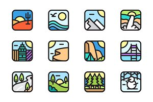 Environment App Icons