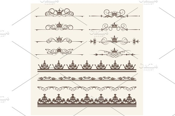 Design Elements Vector PNG Set 4