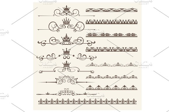 Design Elements Vector PNG Set 5