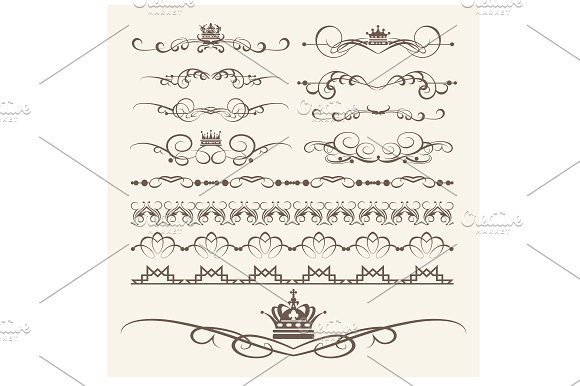 Design Elements Vector PNG Set 7