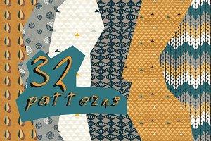 32 patterns