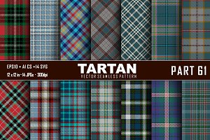 Seamless  Tartan Pattern Part - 61