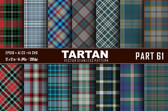 Seamless  Tartan Pattern Part - 61