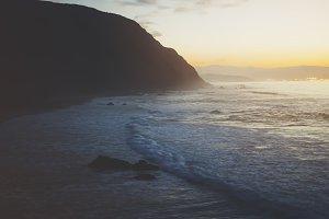 Sunlight and ocean
