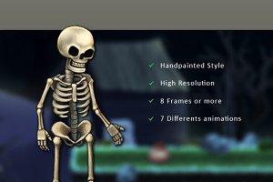 Character Spritesheet: Skeleton