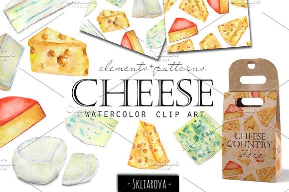 Watercolor Clip Art Illustrations Creative Market