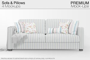 Sofa & Pillows Pack