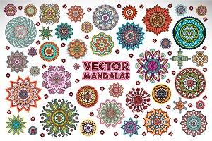 Vector mandalas