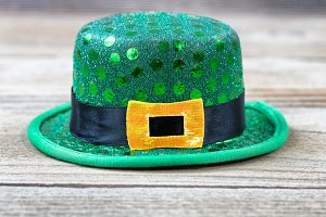 Lucky Hat in close up view