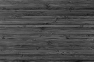 Black wooden background