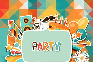 Party backgrounds.