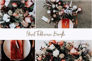Floral Tablescape Wedding Bundle
