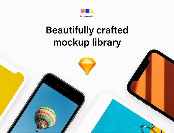 Devicelab Mockup Library