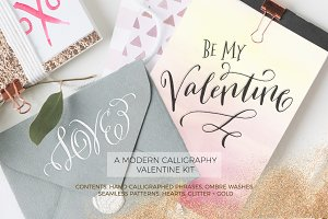 Valentine Watercolor Kit