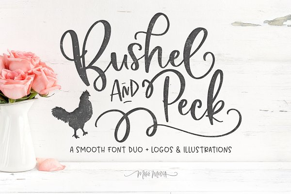 Bushel & Peck Fonts & Logos