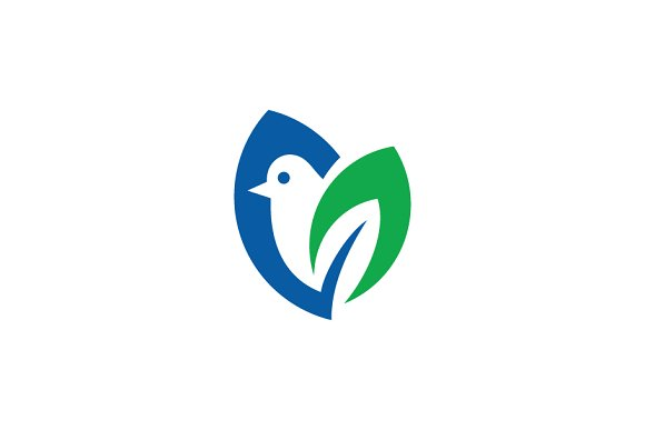 Bird Green Logo