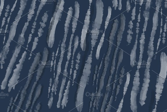 Digital Tie-Dye Stripe Backgrounds in Patterns - product preview 4