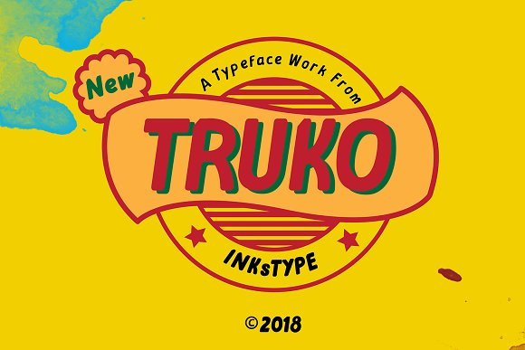 TRUKO-Typeface