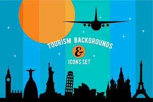 Travel & tourism background