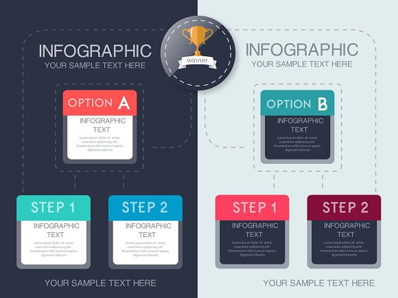 Infographic Template Collection - AI in Illustrations - product preview 6