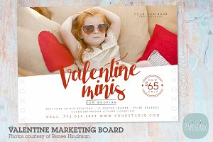 IV013 Valentine Marketing Board