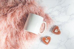 Romantic Mug Mockup