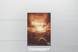 Harvest Event Church Flyer Template