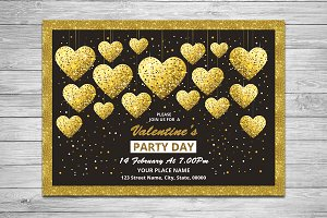 Valentine's Day Invitation V733