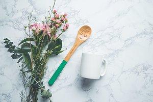 White Mug Mockup Image