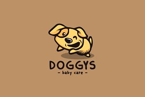 Dog Cartoon Logo
