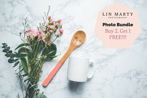 Witty Spoon 3x Mug Mockup Bundle