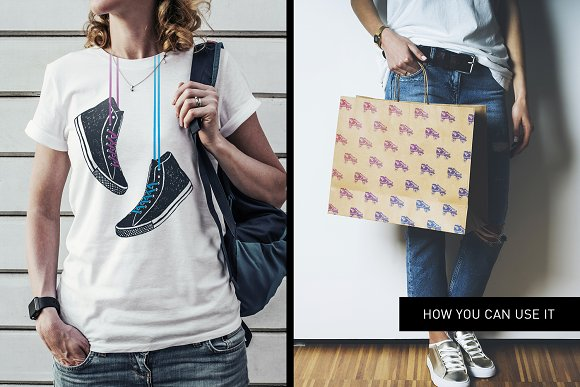 Good Shoes. 8 Inspirational Badges in Logo Templates - product preview 12