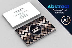 Abstract Business Card Template - 63