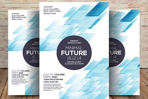 Minimal Future Flyer Template